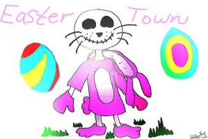 This is Easter Town by WhirledlyGoodz
