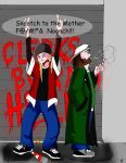 Jay and Silent Bob by AngryJedi