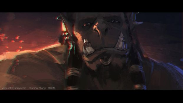 Impression of Warcraft Movie Trailer #12 by YanmoZhang