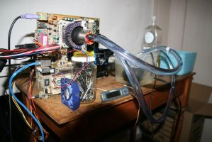 Water cooling experiments by Melbournesparks