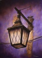 Lamplight by DanBurgessTheArtist