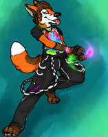 Rave Dancer Commish by Dealupus