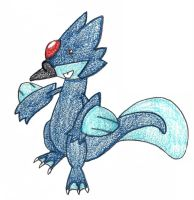 golduck evolution - adopted by FrozenFeather