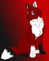 What if Foxlen was a Wolf?????? -lineart NOT mine- by DarkBloodPro
