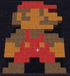My Minecraft Mario by VampiricJoker