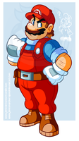 Mario by JamesmanTheRegenold