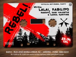 rebel party flyer by thedsw
