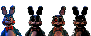 Five Nights at Freddy's - Toy Bonnies by Christian2099