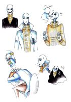 The Royal Scientist W.D. Gaster by TenebraLux