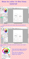 Tutorial Painttool sai: How to color in the lines by swordmasterqueen