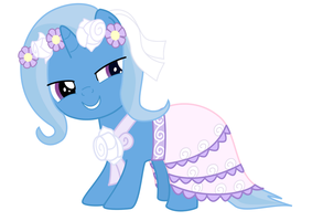 Trixie the Flowergirl by Serendipony