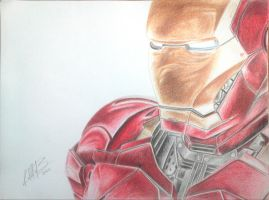 Iron Man by AndresBellorin-ART