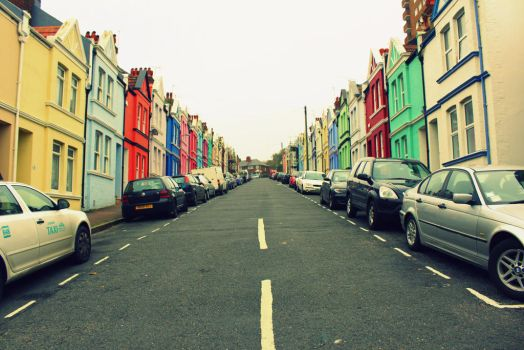 Colorful Brighton II by La-Civetta