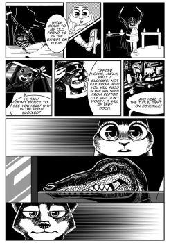 Zootopia. Case #1. Chapter 01, page 05 by PAPER---MAN