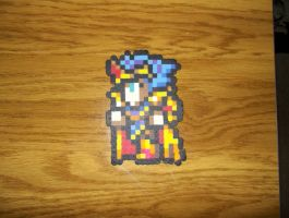 Cecil Paladin Perler by bahamut6666