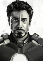 Iron Man by Burukasai