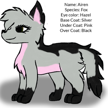 Airen reference sheet (Sona) by AirenNova