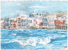 Greece by IllusoryLove