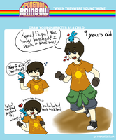 9 year old Oliver by octopusxtimexkeeper