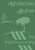 High Res Tree Brushes by andythecompany