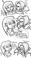 LeviPlays: Skywards Sword comic joke by Inky-Doodle