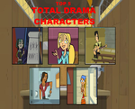 Top 5 Total Drama characters part 1 by Dragonprince18