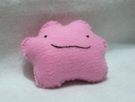 Another Ditto Plushie by Sexual-Pancake