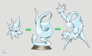 Fakemon: Glass Pokemon by werepenguin
