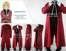 Edward Elric Cosplay Costume by cosplayblog