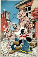 Popeye CLASSICS Steve Mannion Variant issue 30 by rattlesnapper