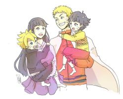 Uzumaki family by fishykays