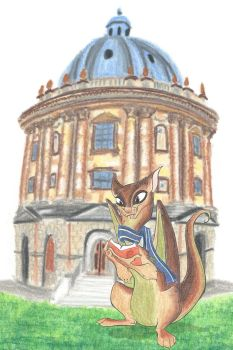 Trinity Dragon in Oxford by LiHy