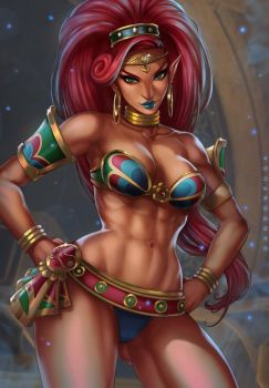 Lady Urbosa by dandonfuga
