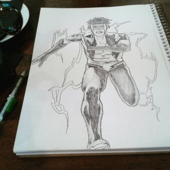 Kid Flash (New 52) by CambodianFire