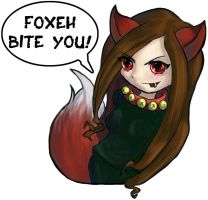 Foxeh Bite You by damphyr