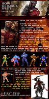 How to make a god Sprite. by theArLeQuIn