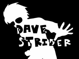 Black and White Dave Strider by Gemini-0601