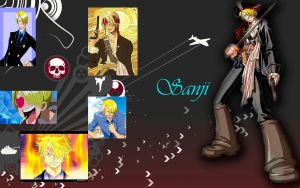 Sanji wallpaper by yuukihanabusa