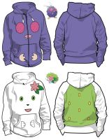 More Pokemon Hoodies by Hattey