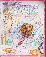 Sonic Cover Issue 4 by TAKAdouglas