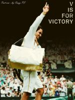 "V is for Victory - RF ""P1"" by Federer4ever"