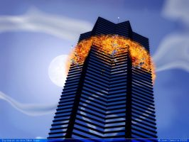 Explosion on the 58th floor by rlcwallpapers