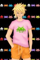 Space Invaders-guy . by Tpose