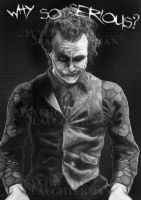 The Joker by PsychoSlaughterman