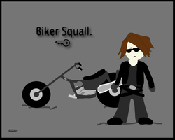 Biker Squall by angelrinoa