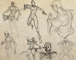 sketch mini-session 15-12-11 by Jun-OH