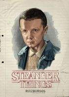 STRANGER THINGS - ELEVEN by RUIZBURGOS