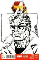 WonderMan Sketchcover commission by ElfSong-Mat
