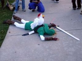 Link-killed-by-chicken by reoru