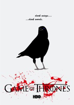 Game Of Thrones - Dark Wings, Dark words by HiMyNameIsSap